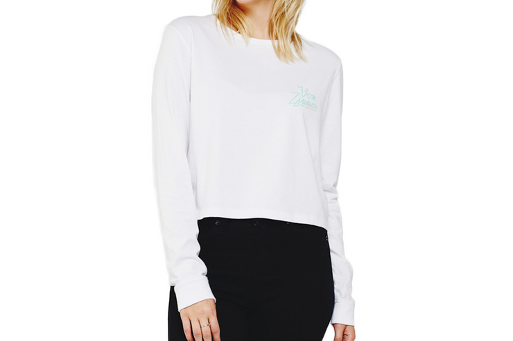 VONZIPPER WOMENS MOTEL LSLV TEE