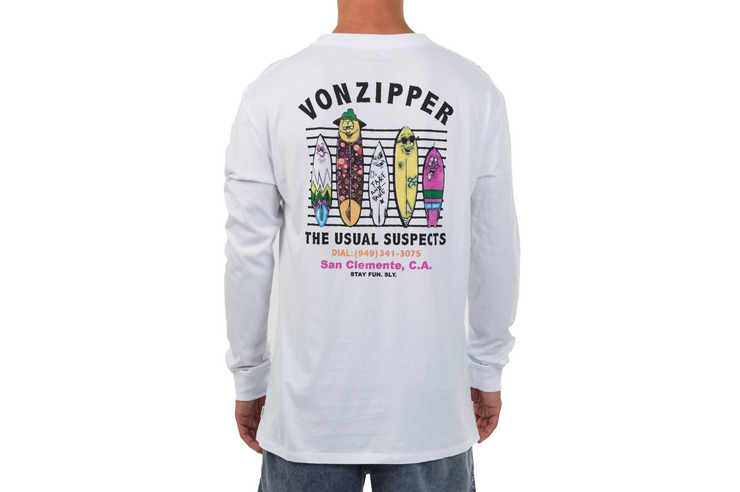 USUAL SUSPECTS LONG SLEEVE TEE