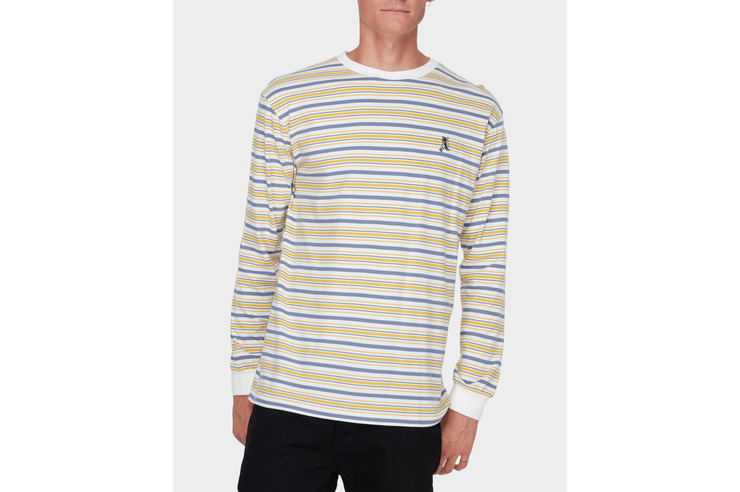 SURFSIDE STRIPE LS TEE