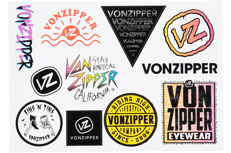 VZ STICKER SHEET VOL. 3