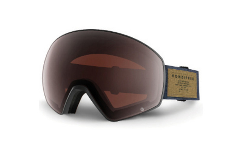 VONZIPPER ALL STYLES JETPACK CHARCOAL SNOW GOGGLE