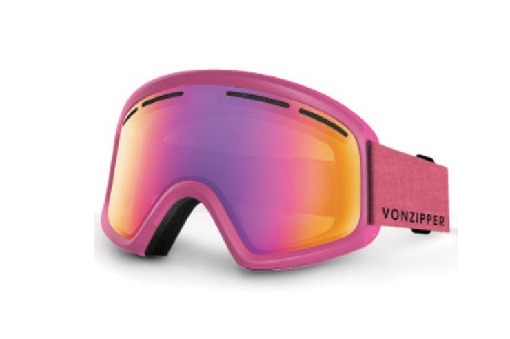 VONZIPPER ALL STYLES TRIKE PINK SNOE GOGGLE