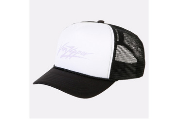 FLASH TRUCKER HAT WHITE