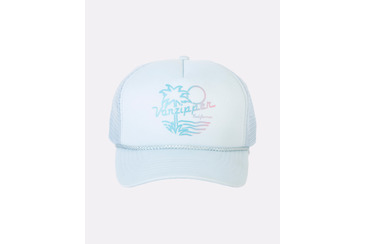 SUNSET TRUCKER HAT PASTEL BLU