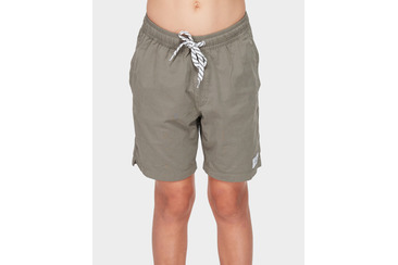YOUTH SALTY DOG BOARDSHORT MILITARY