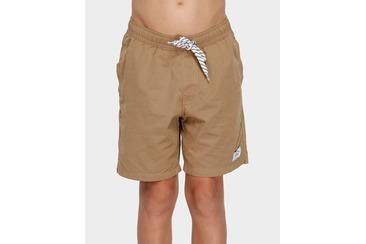YOUTH SALTY DOG BOARDSHORT SAND