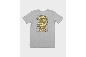 KUNG FU YOUTH SS TEE GREY MARLE