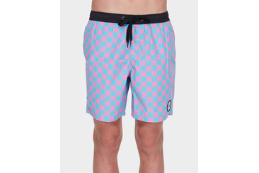 CHECKERS YOUTH BEACH SHORT MULTI
