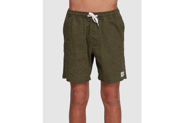 YOUTH TWILL DOGS SHORTS OLIVE