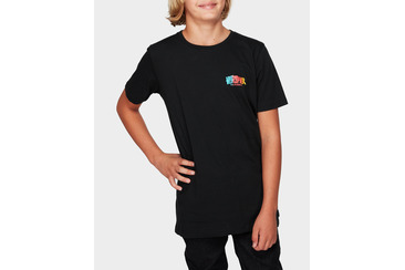 YOUTH VOLT SS TEE BLACK