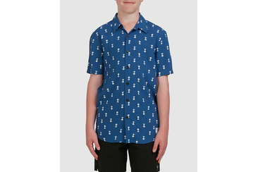 YOUTH PARADISE SHIRT NAVY BLUE