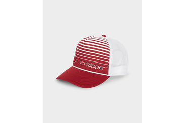 Moby Coloured Lines Trucker Maroon