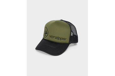 MOBY DISPOSAL TRUCKER ARMY WHITE