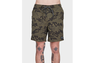 SEARCHER BEACHSHORT ARMY CAMO