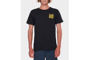 STAMPED SHORT SLEEVE TEE BLACK