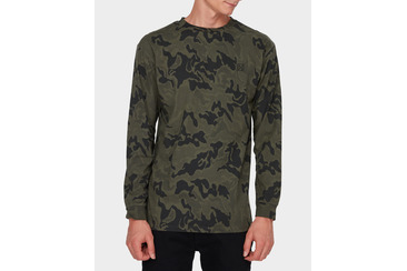 SEARCHER LS TEE  ARMY CAMO
