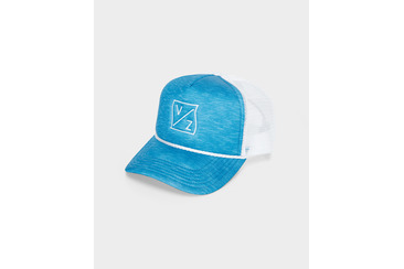 WARPED KITES TRUCKER CAP BLUE/WHITE
