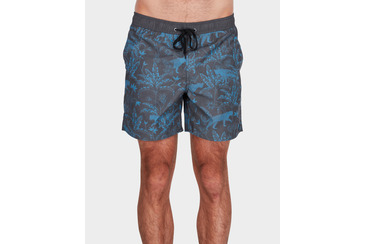 JUNGLE CAT BEACH SHORT NAVY