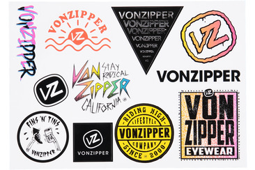 VZ STICKER SHEET VOL. 3 MULTI