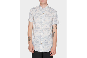 FRONDZ SHORT SLEEVE SHIRT  SAND