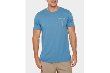 FLOCK ME POCKET TEE ROYAL BLUE