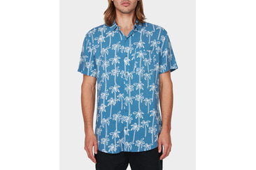 PALM SPRING SHIRT MID BLUE