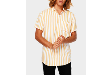 STRAIGHT LINES SS SHIRT SAND