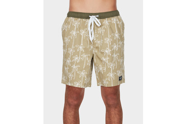 PALM SPRINGS BEACH BOARDSHORT OLIVE