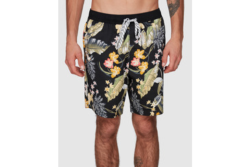 SUGARMAN BOARDSHORT  BLACK/GOLD