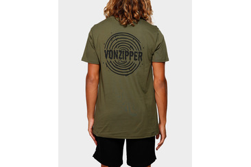 WET PAINT SHORT SLEEVE TEE OLIVE