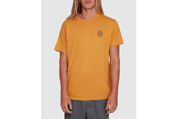 DISTORTION SHORT SLEEVE TEE GOLDEN GLO