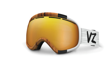 SKYLAB SNOW GOGGLES WOODY / COPPER CHROME