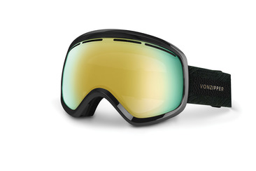 SKYLAB SNOW GOGGLES BLACK GLOSS / GOLD CHROME