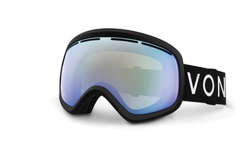 SKYLAB SNOW GOGGLES BLACK SATIN / STELLAR CHROME
