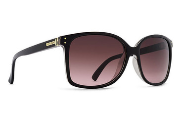Castaway Sunglasses  BLACK CRYSTAL / GRADIENT