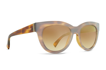 Queenie  Frosted Tortoise / Gold Chrome Gradient