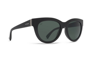 Queenie Sunglasses BLACK GLOSS / VINTAGE GREY WILDLIFE POLAR