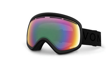 SKYLAB SNOW GOGGLES BLACK SATIN / WILDLIFE CHROME