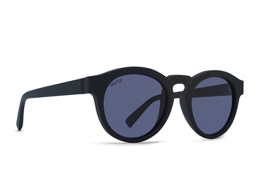 Ditty Polarised sunglasses  Black Satin / WildLife Vintage Grey Polarised