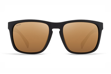 Lomax Polarised   BLACK SATIN / GOLD WILD FLASH