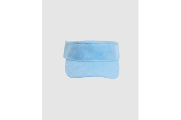 MOBY TERRY TOWELLING VISOR DUSTY BLUE