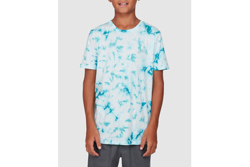 YOUTH RESISTS TIE DYE TEE  BLUE