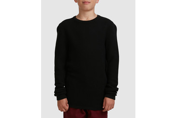 YOUTH RAVINE KNIT  BLACK
