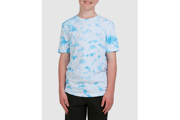 YOUTH PUERTO TEE TIE DYE BLUE