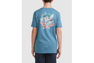 YOUTH RAISER TEE BLUE