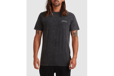 KRATER SHORT SLEEVE TEE  BLACK ACID