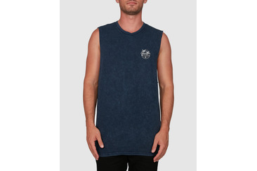 PUERTO ACID MUSCLE TEE MIDNIGHT A