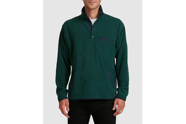 EXPEDITION FLEECE POLO  FOREST