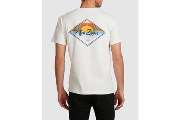 SUNRISE SHORT SLEEVE TEE IVORY