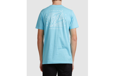 OFF THE GRID SHORT SLEEVE TEE BALTIC